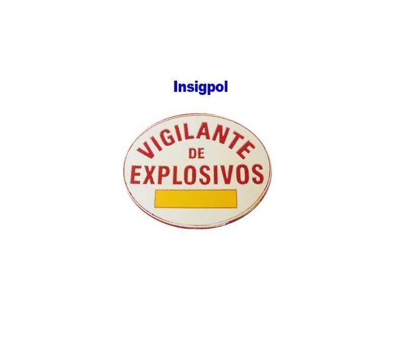placa vigilante pvc