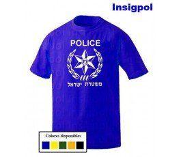 CAMISETA POLICIA ISRAEL