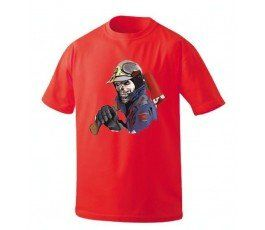 MADRID ZOMBIE FIREFIGHTER T-SHIRT