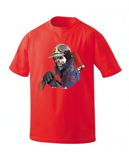 Camiseta-zombi-bombero-comunidad-de-Madrid