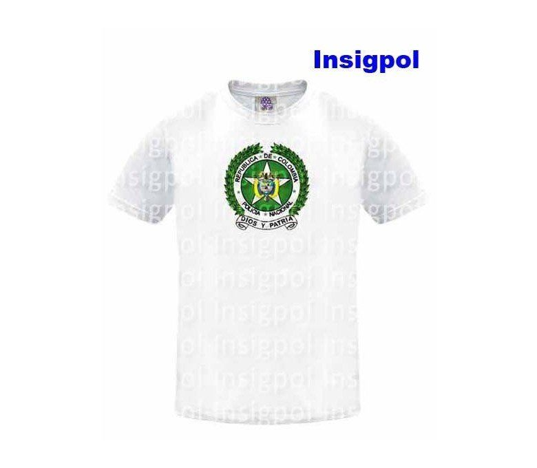 camiseta policia colombia