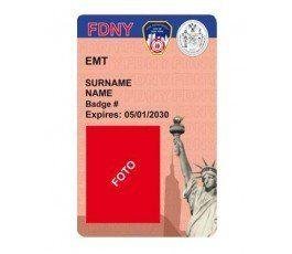 EMS FDNY ID CARD