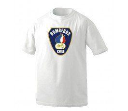 Camiseta Bomberos Chile