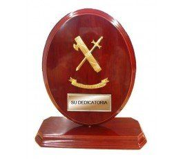 CIVIL GUARD CUSTOM FRAME TROPHY