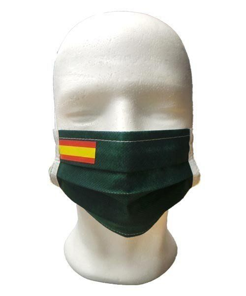 FLAG SPAIN GREEN MASK