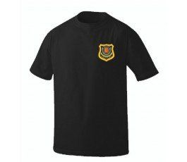 PRISON OFFICER BLACK T-SHIRT