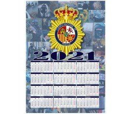 2021-SPANISH-NATIONAL-POLICE-CALENDAR