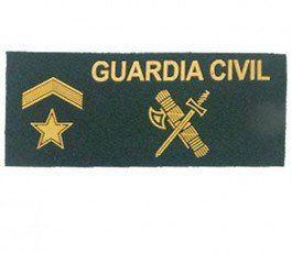 parche galleta guardia civil subteniente