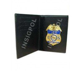 ATF BADGE & WALLET BOOK STYLE