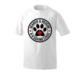 K9 SAVING LIVES T-SHIRT