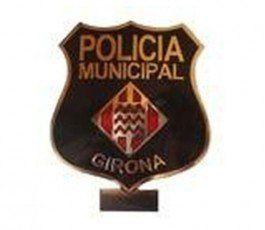 GERONA LOCAL POLICE BADGE
