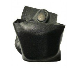 HANDCUFFS LEATHER UNDERCOVER CASE
