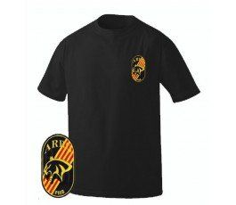 CAMISETA MOSSOS ARRO COLOR NEGRO