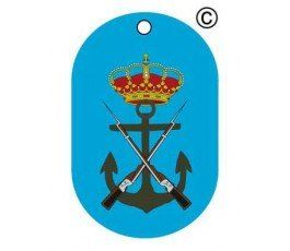 SPANISH-NAVY-POLICE-DOG-TAG