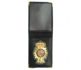 SPANISH NATIONAL POLICE WALLET CASE INCLUDED BADGE