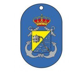 SPANISH NAVY SPECIAL OPERATIONS UNIT DOG TAG