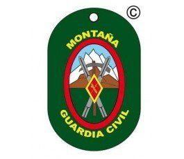 CIVIL GUARD MOUNTAIN DOG TAG