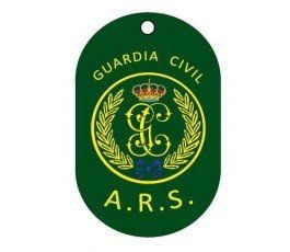CHAPA IDENTIFICACIÓN GUARDIA CIVIL ARS