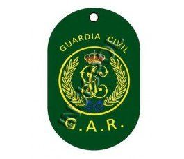 CIVIL GUARD GAR DOG TAG