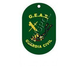 CIVIL GUARD GEAS DOG TAG