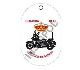 ROYAL GUARD MOTORCYCLE SECTION DOG TAG