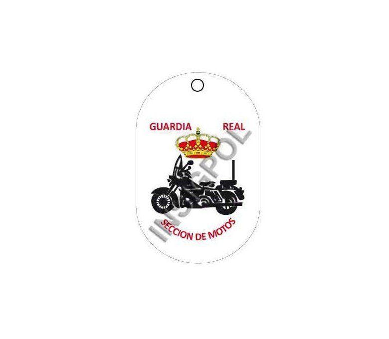 ROYAL GUARD MOTORCYCLE SECTION DOG TAG