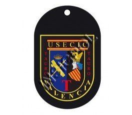 CIVIL GUARD USECIC VALENCIA DOG TAG