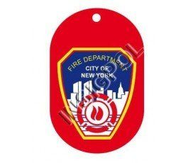 FIRE DEPARTMENT OF NEW YORK DOG TAG