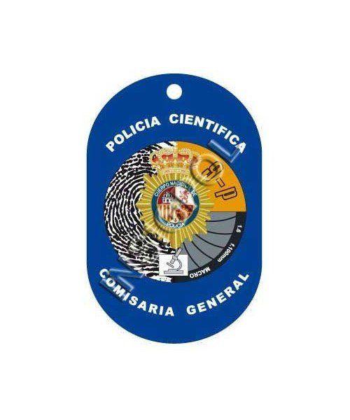 SPANISH NATIONAL POLICE CSU DOG TAG