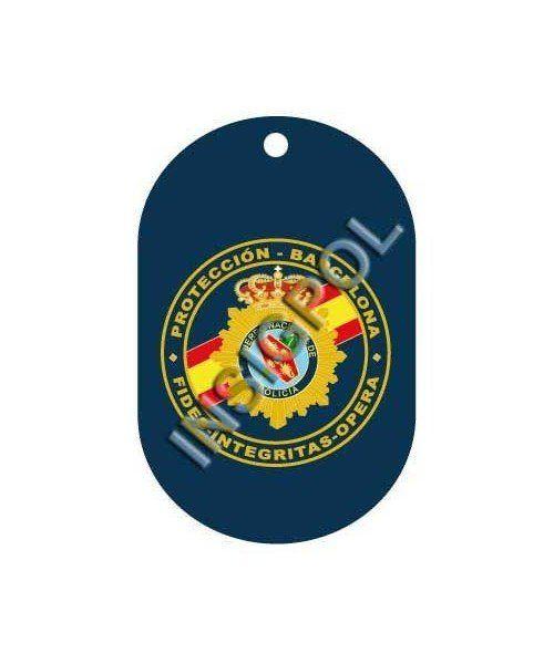 SPANISH NATIONAL POLICE BODYGUARD DOG TAG