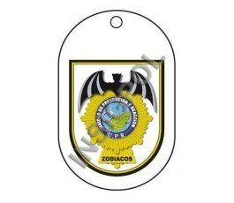 SPANISH NATIONAL POLICE UPR ZODIACOS DOG TAG