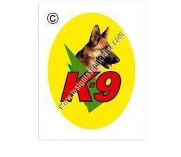 K9-sticker