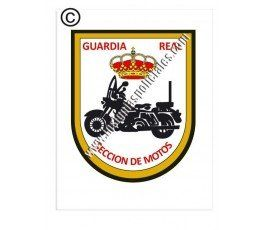 guardia-real-sección-motos-sticker
