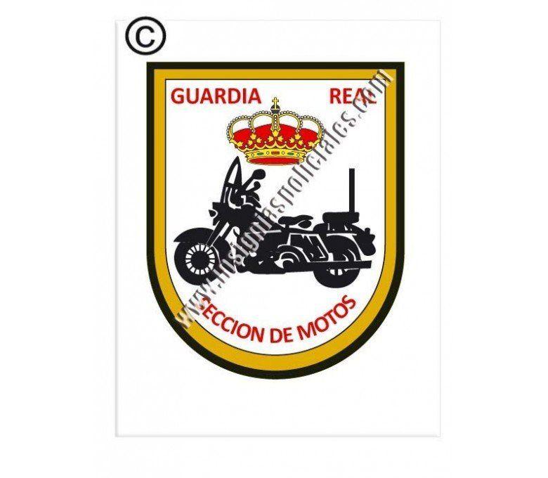 guardia-real-sección-motos-sticker