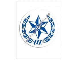 police-israel-sticker