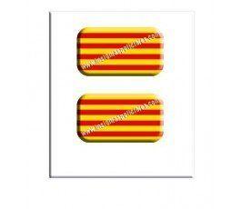 catalan-flag-resin-sticker