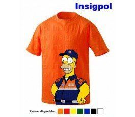 CAMISETA HOMER PROTECCIÓN CIVIL
