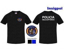 CAMISETA POLICIA HELICOPTEROS