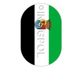 EXTREMADURA FLAG DOG TAG