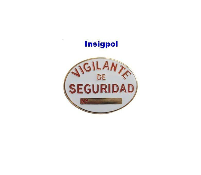 SPANISH PRIVATE SECURITY OFFICIAL BADGE