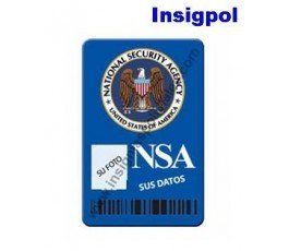 NSA CUSTOM ID CARD