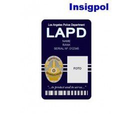 LAPD CUSTOM ID CARD
