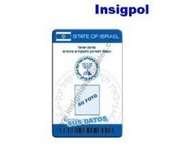 MOSSAD CUSTOM ID CARD