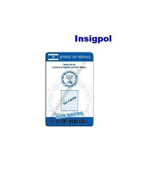 MOSSAD CUSTOM ID CARD