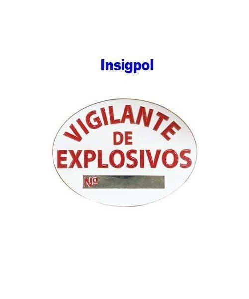 SPANISH SPECIAL AGENT EXPLOSIVES OFFICIAL BADGE