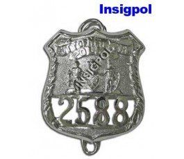 NEW YORK POLICE OFFICER BADGE
