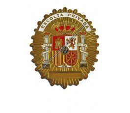 SPANISH PRIVATE BODYGUARD BADGE