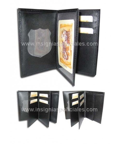 CATALONIA POLICE PURSE TRIFOLD WALLET CASE