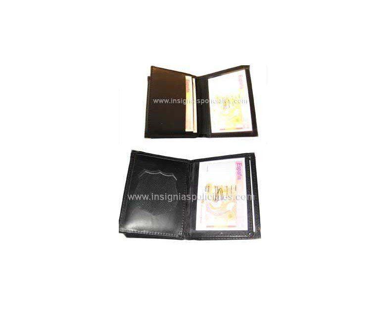 Cartera PortaPlaca Protección Civil Tipo Libro