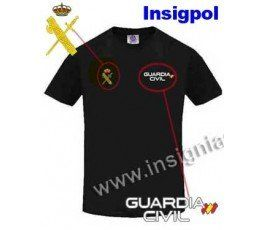 CIVIL GUARD TECHNICAL BLACK T-SHIRT